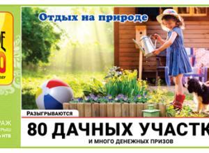 Проверить билет Русское лото 1233 тираж   Русское лото