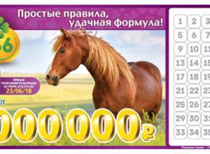 Лотерея 6 из 36 - 147 тираж Проверить биле